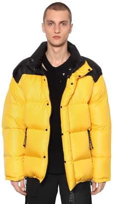 Reversible Color Block Down Jacket
