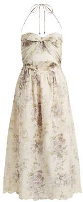 Zimmermann Iris Picnic floral-print linen dress