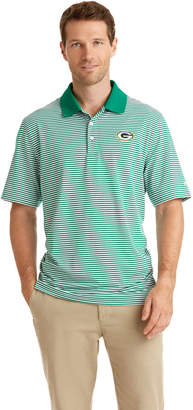 Vineyard Vines Green Bay Packers Porter Stripe Polo