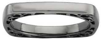 Simply Stacks Sterling Polished Square Band Ring