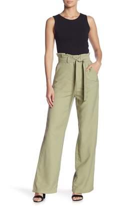 Do & Be Do + Be Ruffle High Waist Paperbag Pants