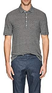 Massimo Alba Men's Striped Linen Polo Shirt - Stripe