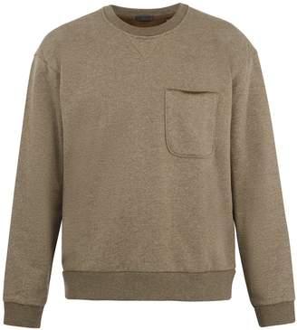 ATM Patch-pocket cotton-blend sweatshirt