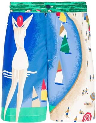 Polo Ralph Lauren riviera pint swimming shorts