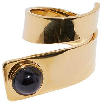 Lizzie Fortunato Onyx Escher Ring Size - O