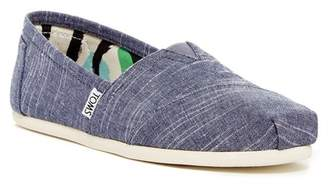 Toms Classic Chambray Slip-On Flat