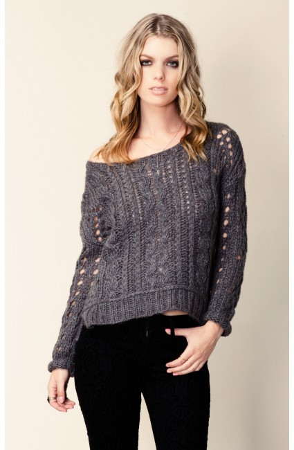 Free People Pullover Fluff