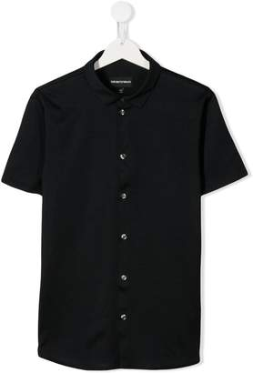 Emporio Armani Kids TEEN short sleeve shirt