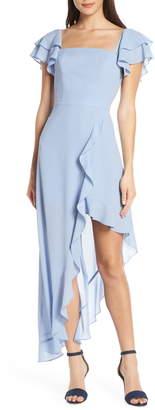Ali & Jay Terrace Time Asymmetrical Maxi Dress