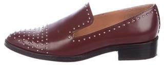 Sigerson Morrison Studded Leather Loafers