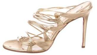 Christian Louboutin Multistrap Slide Sandals