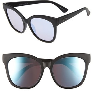 Women's Quay Australia It's My Way 55Mm Sunglasses - Black/ Purple $55 thestylecure.com