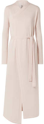 Rick Owens Belted Cashmere Cardigan - Blush