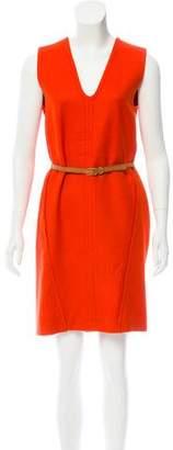 Stella McCartney Belted Wool Dress