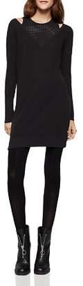 BCBGeneration Cutout Sweater Dress