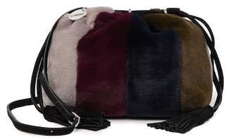 Studio 33 Da Bomb Faux Fur Drawstring Shoulder Bag