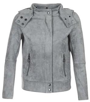 3b57a8f6ede ALCANTARA BIKER JKT women's Jacket in Grey