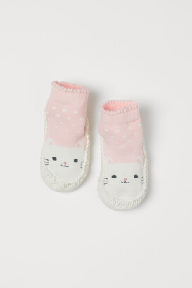 H&M Slipper Socks - Pink
