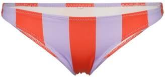 Solid & Striped vertical striped wide bikini bottoms
