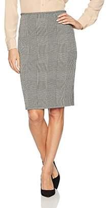 Calvin Klein Women's Straight Glenplaid Skirt