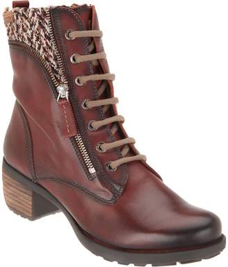 PIKOLINOS Leather Lace-Up Ankle Boots - Le Mans