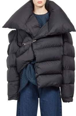 Marques Almeida Marques'Almeida Asymmetric Puffer Jacket