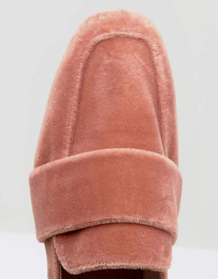 Free People Velvet Loafer