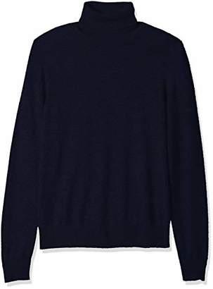 Buttoned Down Men's 100% Premium Cashmere Turtleneck Sweater