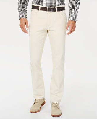 Tommy Hilfiger Mens Richard Custom-Fit Stretch Corduroy Pants