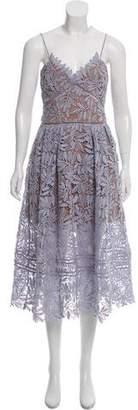 Self-Portrait Laelia Knee-Length Dress