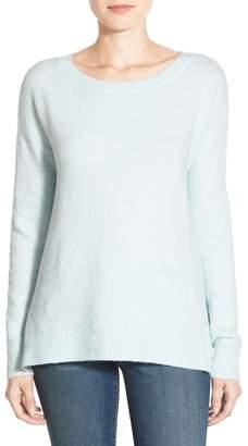 Caslon Back Zip High/Low Sweater $59 thestylecure.com