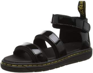 Dr. Martens Unisex-Child Marabel J Jr Chk Strap Sandal