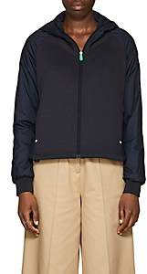 Save The Duck SAVE THE DUCK WOMEN'S JERSEY-FRONT HOODED JACKET-NAVY SIZE 0
