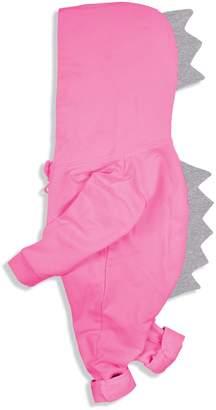 Minilove Baby multicolored Dinosaur Hoodie Jumpsuit(100,)