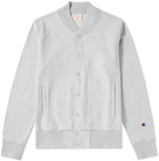 Champion Reverse Weave Heavy Marl Stadium Jacket
