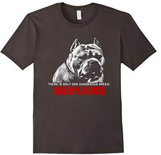 Breed Dog Rescue T Shirt-There is only one dangerous