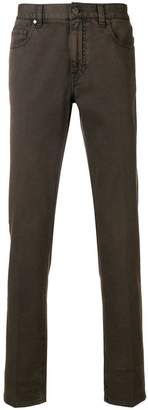 Ermenegildo Zegna slim fit trousers