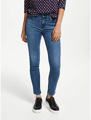 J Brand 811 Mid Rise Skinny Jeans, Fuse