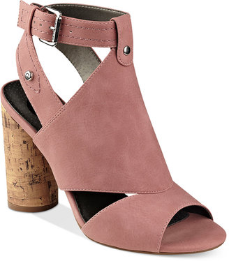 G by GUESS Jonra Open-Toe Sandals $69 thestylecure.com