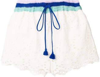 Semi-Couture Semicouture broderie anglaise shorts