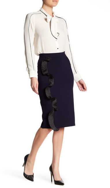 Opening Ceremony Opening Ceremony Ruffle Pencil Skirt