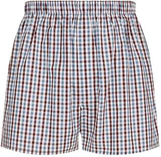 Sunspel Gingham Boxers