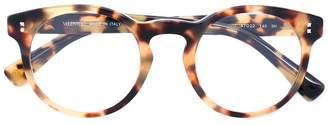 Valentino Eyewear Garavani Rockstud round frame sunglasses