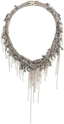 Marc Le Bihan rhinestone pendant necklace