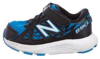 New Balance Boys' Mesh Low-Top Sneakers
