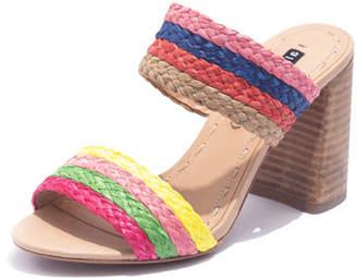 Alice + Olivia Leeda Rainbow Slide Sandals