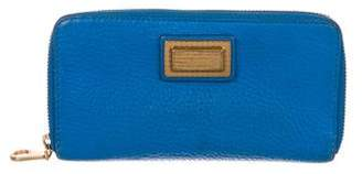 Marc by Marc Jacobs Leather Zip-Up Wallet
