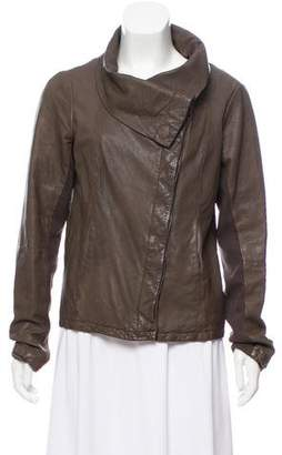 AllSaints Casual Leather Jacket
