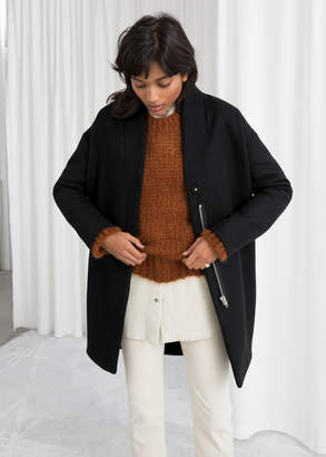 And other stories Wool Blend Coat