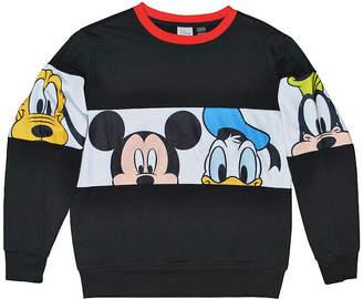 DISNEY MICKEY MOUSE Disney Boys Crew Neck Long Sleeve Mickey and Friends T-Shirt Preschool / Big Kid